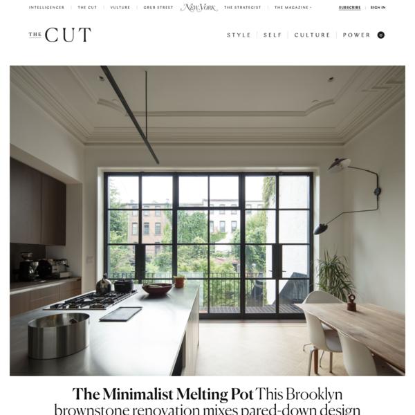 This Brooklyn Brownstone Renovation Is a Minimalist Melting Pot