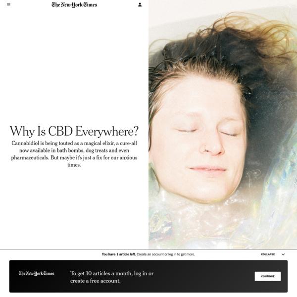 Why Is CBD Everywhere?
