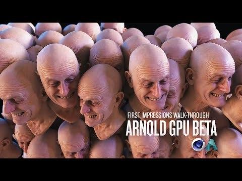 Arnold GPU Beta Walk-through and First Impressions | Greyscalegorilla
