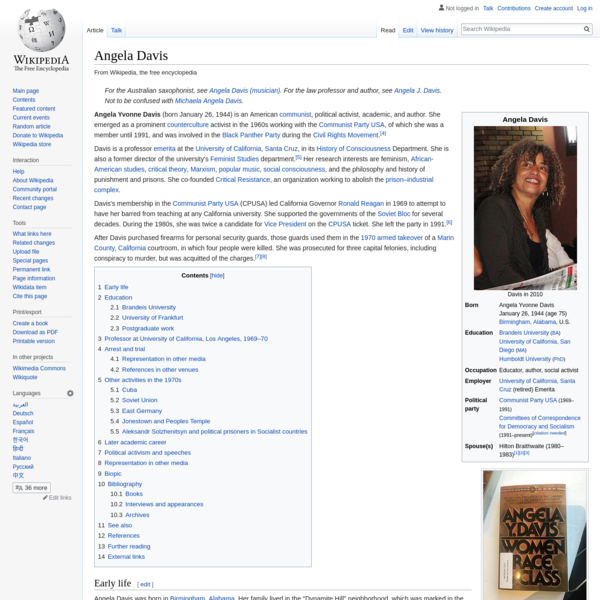 Angela Davis - Wikipedia