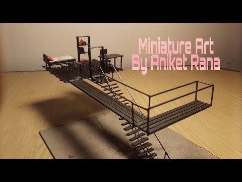 Miniature Art Room