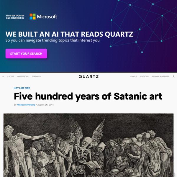 Five hundred years of Satanic art