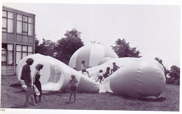 gernot minke children play bubble inflatable architecture