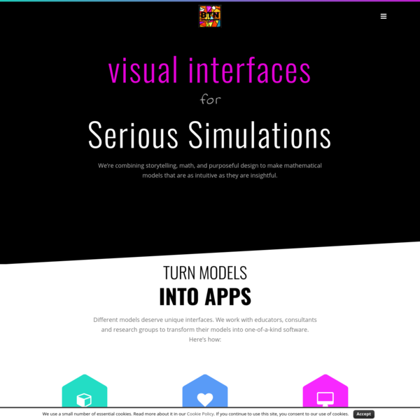 BTN – Visual Interfaces for Serious Simulations