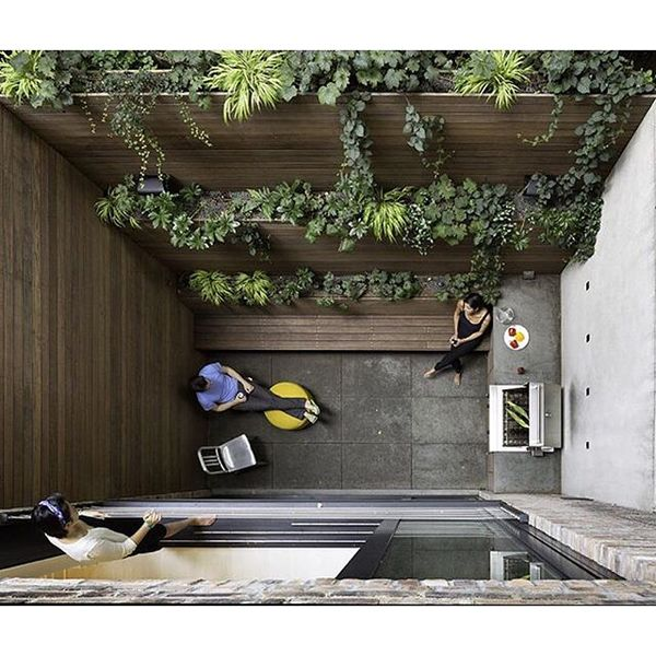 """13.2k Likes, 92 Comments - Dwell (@dwellmagazine) on Instagram: """"Making the most of a 90-square-foot patio in Manhattan. Photo by Chris Cooper @ccooperny #dwell..."""""""