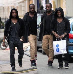 Kanye and Virgil Abloh