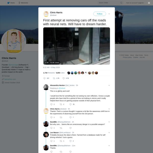 Chris Harris on Twitter