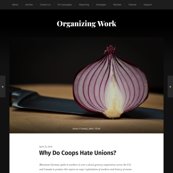 Why Do Coops Hate Unions?