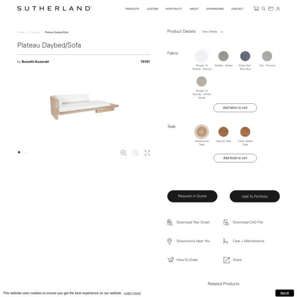 Plateau Daybed/Sofa