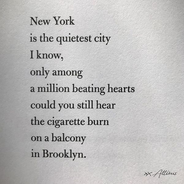 I just love New York, do you? Xx⁣⠀⠀⠀⠀⠀⠀⠀⠀⠀ ⁣⁣⁣⁣⠀⠀⠀⠀⠀⠀⠀⠀⠀ #poetry #poem #quotes #love #lovequotes #poet #poems #writers #atti...