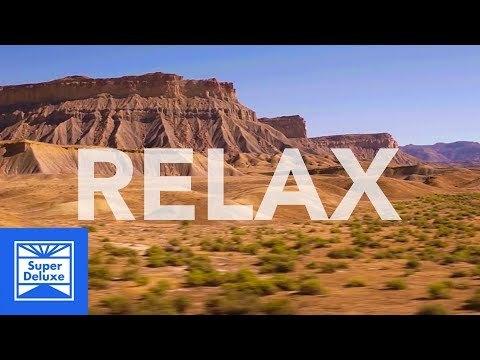 Relaxing Desert Train Ride | Braincation