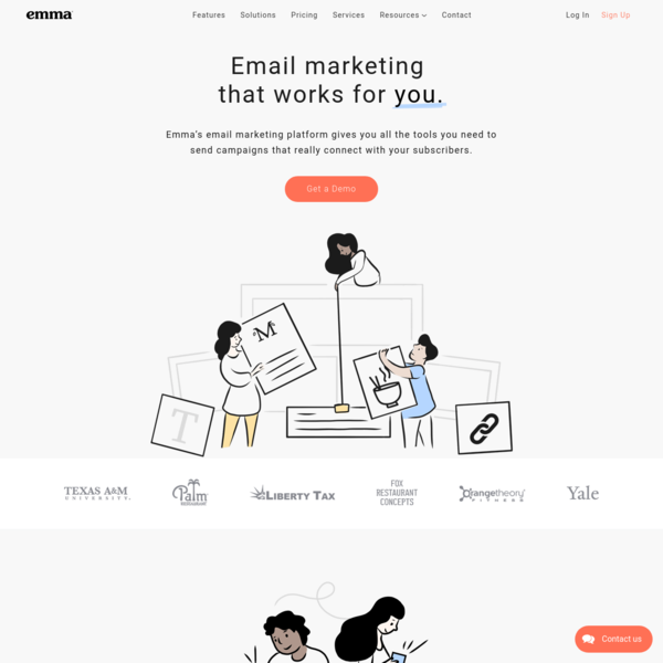 Email Marketing Software That Works For You   Emma Email Marketing & Automation