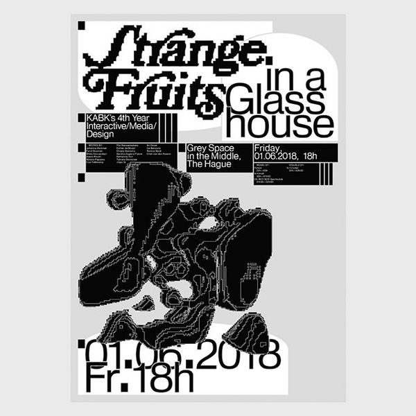 International Poster Competition submission ❗️⠀ _⠀⠀⠀⠀⠀⠀⠀⠀⠀⠀ Title: Strange Fruits in a Glasshouse⠀ By: David Einwaller⠀ Coun...