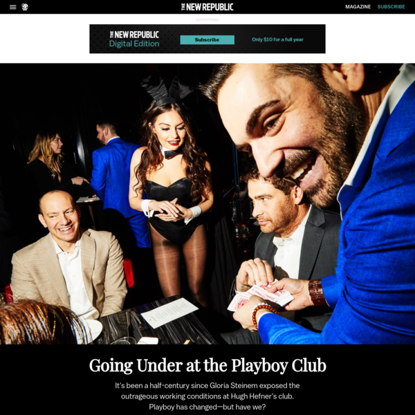 Going Under at the Playboy Club