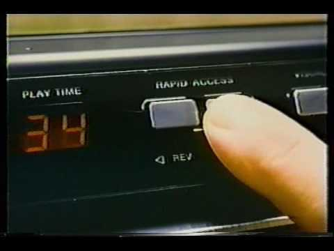 1980 RCA Video Disc Player Sales Promo