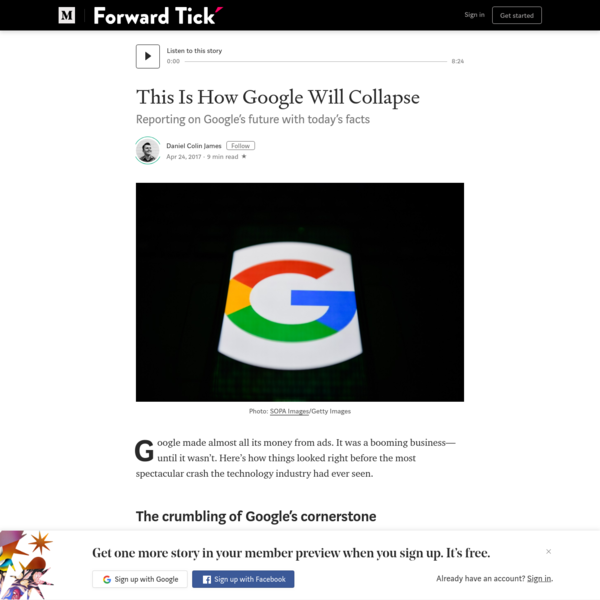 This Is How Google Will Collapse
