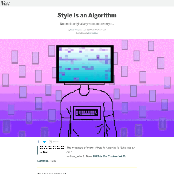 Have Algorithms Destroyed Personal Taste?