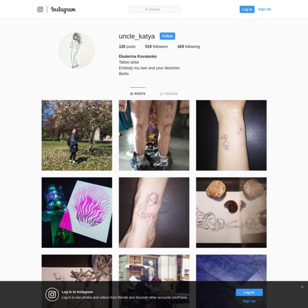 Ekaterina Kovalenko (@uncle_katya) * Instagram photos and videos