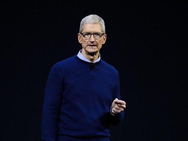 Sweater and Dress Shirt - Tim Cook
