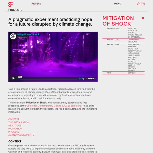 Mitigation of Shock - Superflux