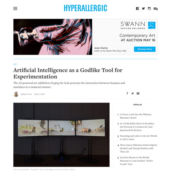 Artificial Intelligence as a Godlike Tool for Experimentation