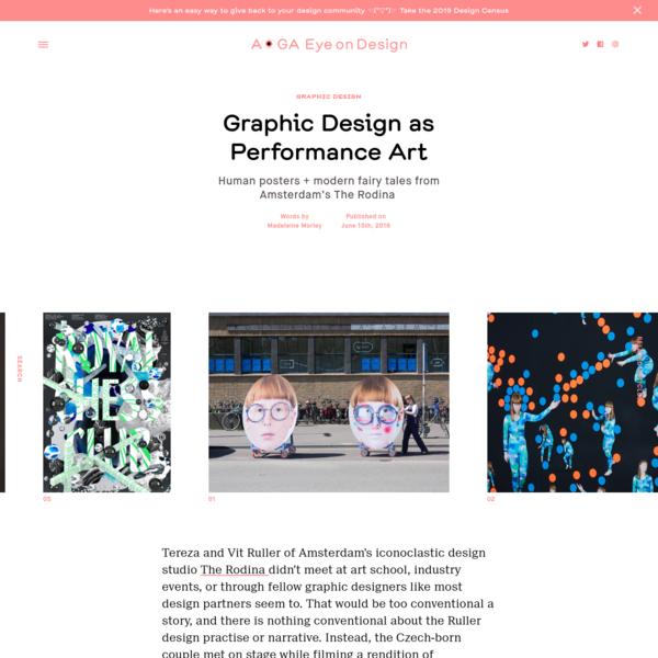 Graphic Design as Performance Art