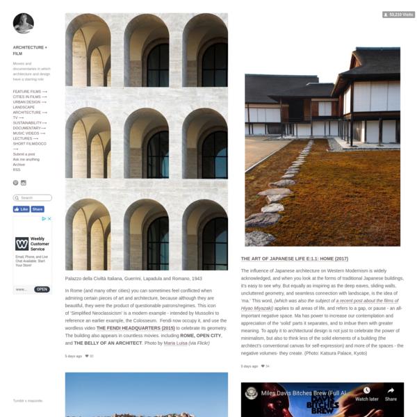 ARCHITECTURE+FILM