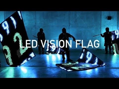 LED VISION FLAG