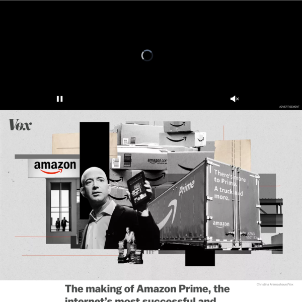 How Amazon created the Prime membership program - Vox