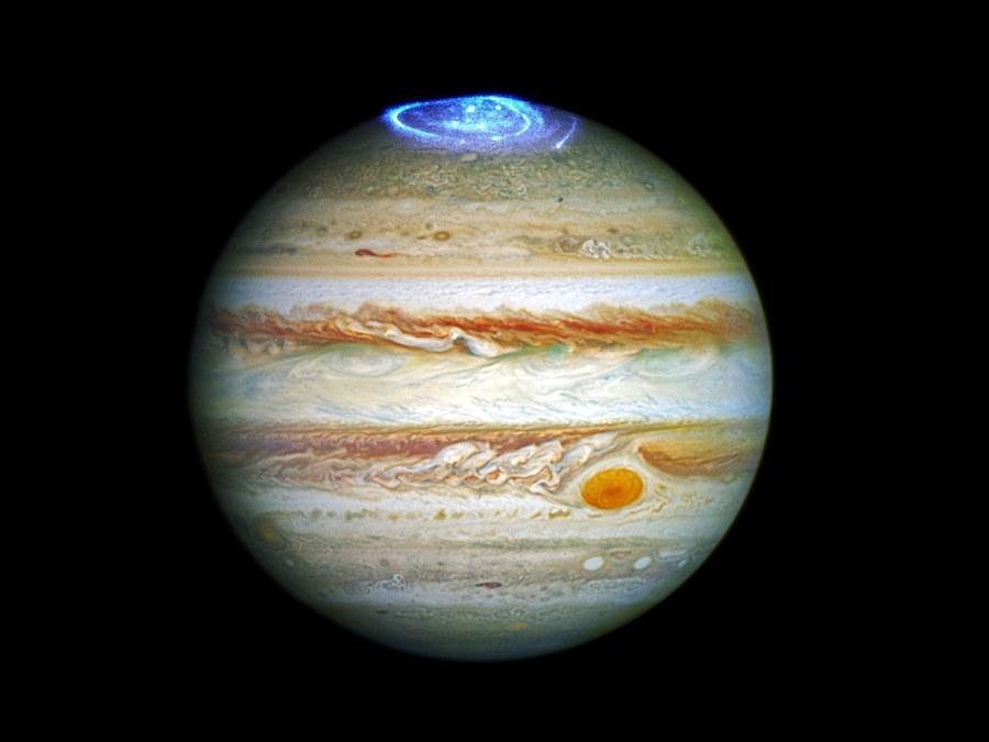 Jupiter aurora