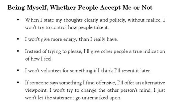 Being Myself, Whether People Accept Me or Not