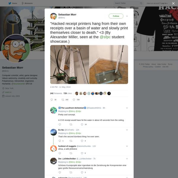 Sebastian Morr on Twitter