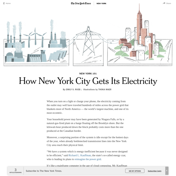 How New York City Gets Its Electricity