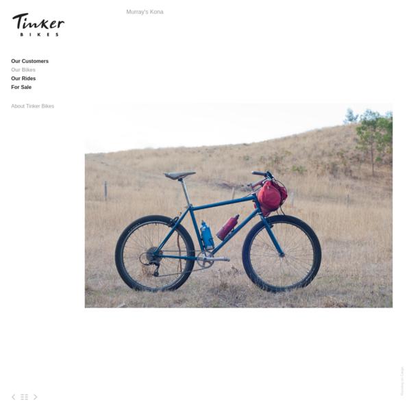 Murray's Kona - Tinker Bikes
