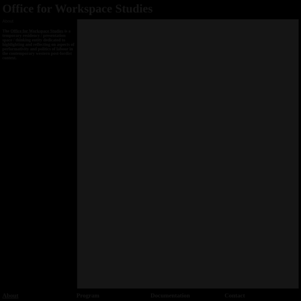 Office for Workspace Studies