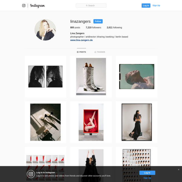 Lina Zangers (@linazangers) * Instagram photos and videos