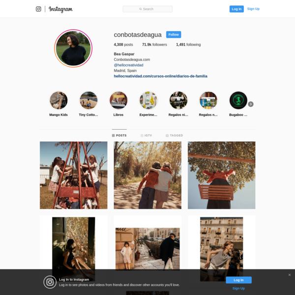 Bea Gaspar (@conbotasdeagua) * Instagram photos and videos