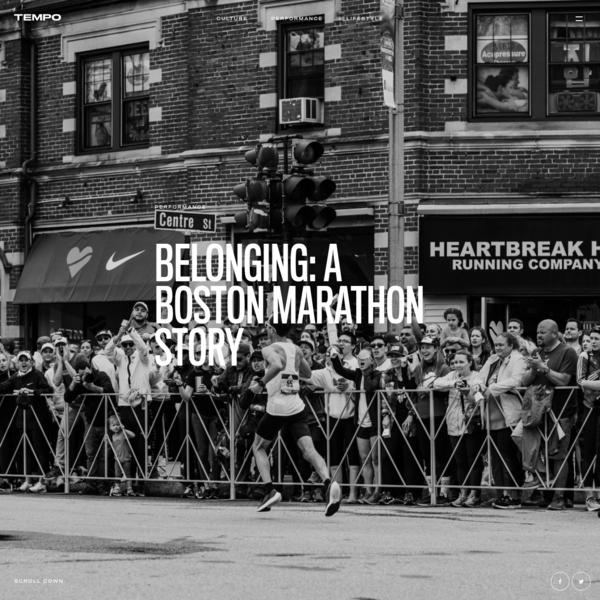 Belonging: A Boston Marathon story