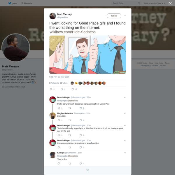 Matt Tierney on Twitter