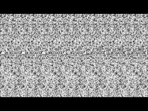 Young Rival - Black Is Good (Autostereogram Video: Crossed-Eye Version)
