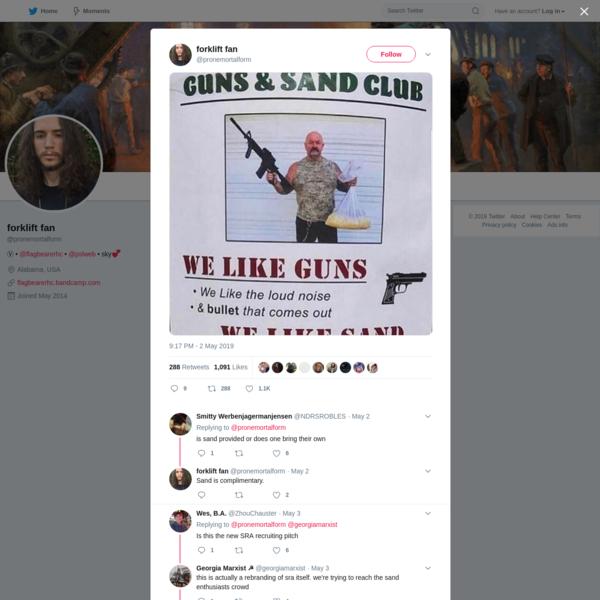 forklift fan on Twitter