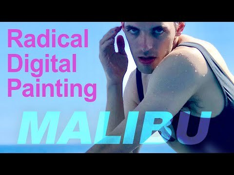 Weird Painting Software - Radical Digital Painting: Malibu (Lecture)