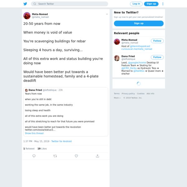 Meta-Nomad on Twitter
