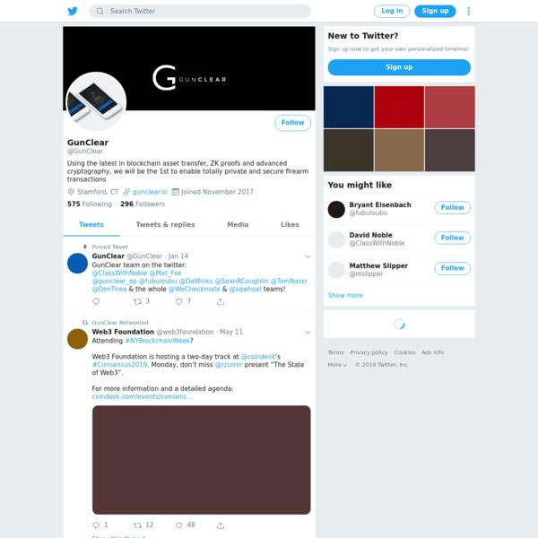 GunClear (@GunClear) | Twitter