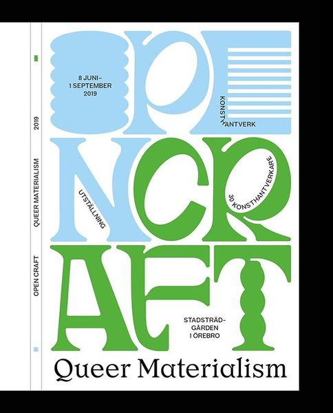 Catalogue and posters soon in print 👀 For the exhibition @opencraft2019 showing the work by a selection of sweden's best art...