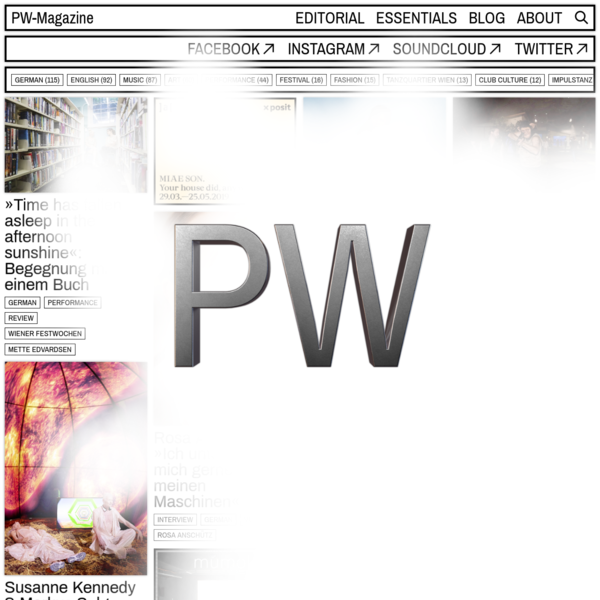 PW-Magazine - Online Magazine for Contemporary Culture