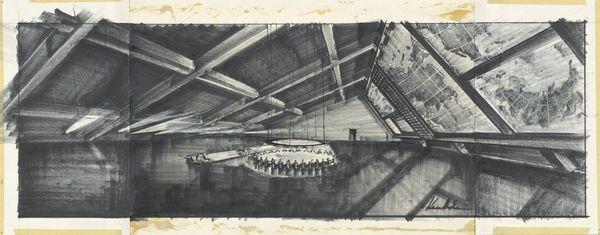 Ken Adam design for Dr. Strangelove War Room