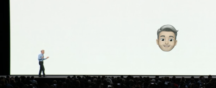 Apple presents Memoji for the firs time, on stage