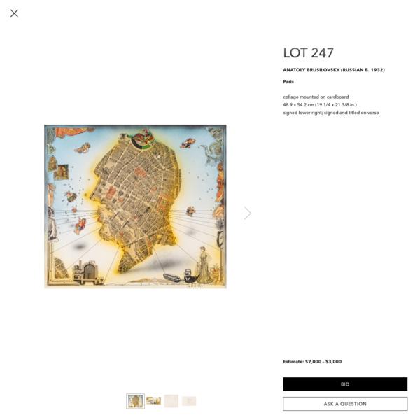 ANATOLY BRUSILOVSKY (RUSSIAN B. 1932) — International Fine & Decorative Art Auction — Shapiro Auctions