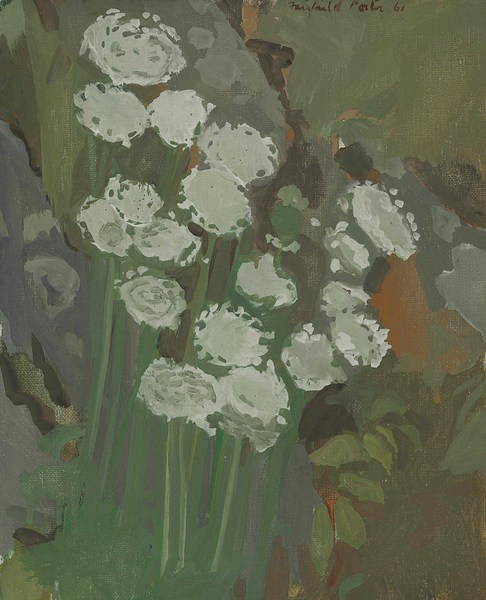 Fairfield Porter, Queen Anne's Lace--Evening, 1961